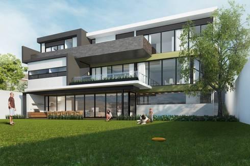 RESIDENCIA LA VENTANA: Casas de estilo moderno por TREVINO.CHABRAND | Architectural Studio