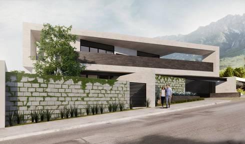 RESIDENCIA LA VENTANA: Casas de estilo industrial por TREVINO.CHABRAND | Architectural Studio