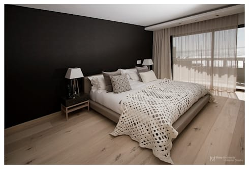 Costa Brava: modern Bedroom by Make Architects + Interior Studio