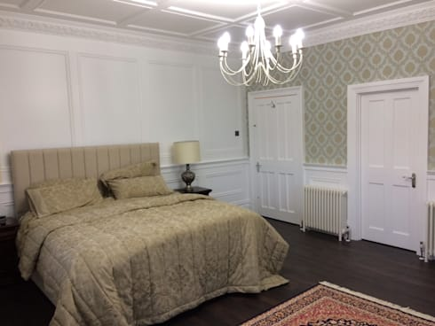 Wall Panelling Ideas For All Rooms In The Home By The UKs Leading - Bedroom panelling designs