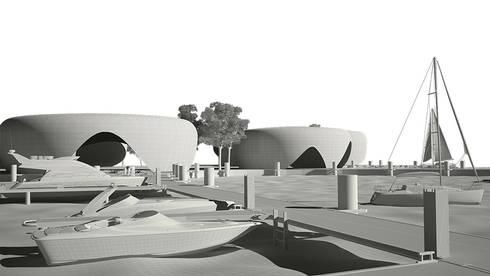 Proyecto Conceptual / Italian Pavillion Abu Dhabi Exposition 2020:  de estilo  por Arquitectura Positiva