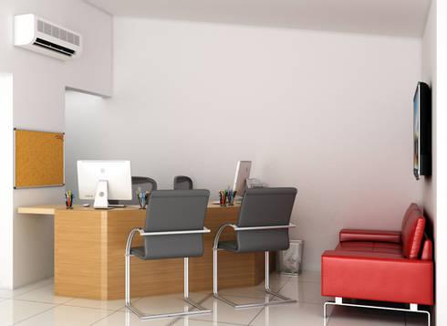 Remodelación de Oficinas LET´S Institute y Repostería Fina Teresa Morelli: Oficinas y tiendas de estilo  por Arquitectura Positiva