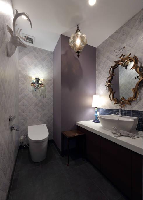 トイレ: 株式会社井蛙コレクションズが手掛けたレストランです。
