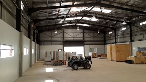 Kathu Solar Photovoltaic (PV) Plant:  Commercial Spaces by Truspace