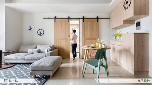 寓子空間設計:  臥室 by iDiD點一點設計