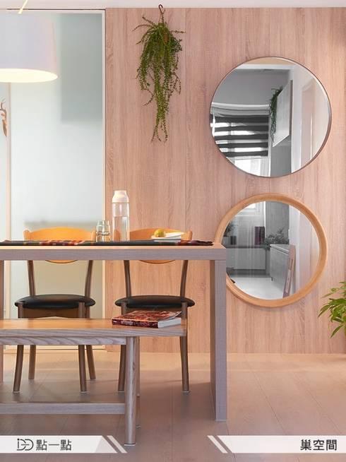 巢空間室內設計:  廚房 by iDiD點一點設計