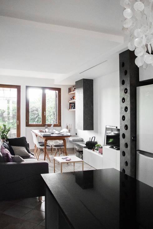 Una villetta a schiera piena di stile - Casa a schiera progetto ...