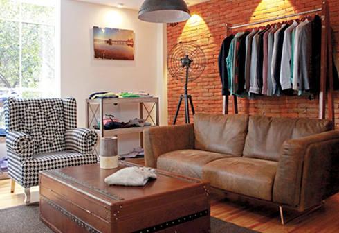 THE BOX CLUB: Oficinas y tiendas de estilo  por puntoarquitectura