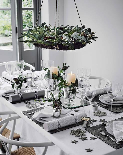 Christmas Inspiration: Casa in stile  di Design for Love