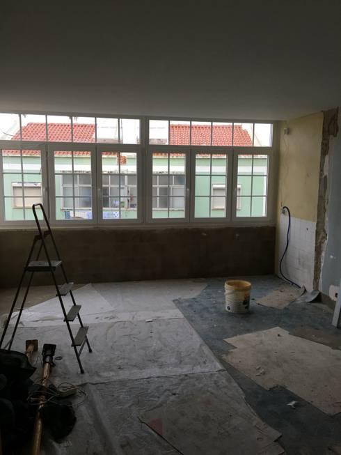 Durante a remodelação:   por DCASAIDA