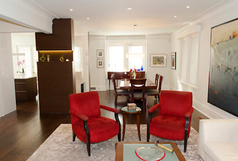 Rockcliffe Park Renovations: classic Living room by Jane Thompson Architect