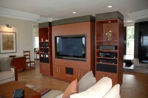 Benchscape: modern Living room by Lex Parker Design Consultants Ltd.