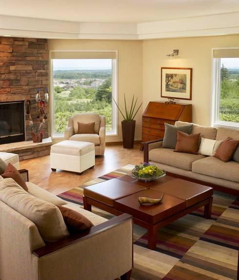Benchscape:  Living room by Lex Parker Design Consultants Ltd.