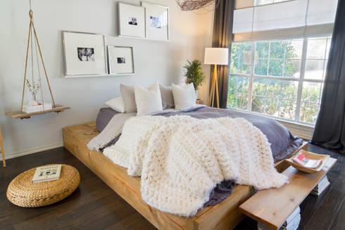 Urban Scandinavian Home: scandinavian Bedroom by Urbanology Designs