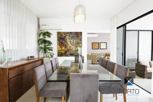 <q class='-first'>PROYECTO LDZ26</q>: Comedores de estilo ecléctico por PORTO Arquitectura + Diseño de Interiores