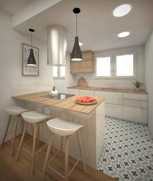 Pisos para cocina opciones para todos los bolsillos for Cocinas para pisos pequenos