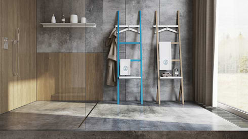 Ypsy, projecto de hotelaria: Casa de banho  por Two Six