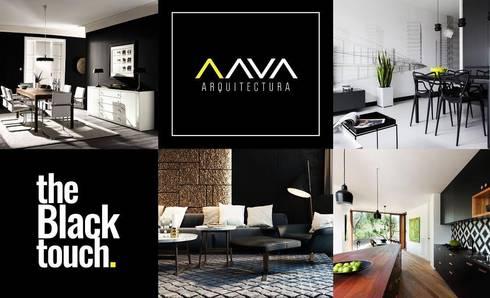 Decoraciones interiores:  de estilo  por AAVA Arquitectura