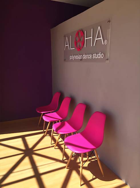 Aloha:  de estilo  por AAVA Arquitectura
