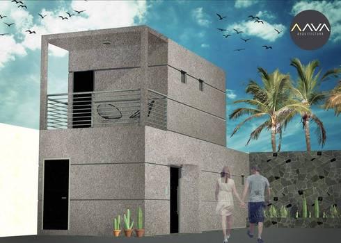 Bunker:  de estilo  por AAVA Arquitectura