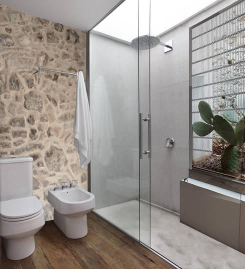 Projekty,  Łazienka zaprojektowane przez studio musumeci architetti