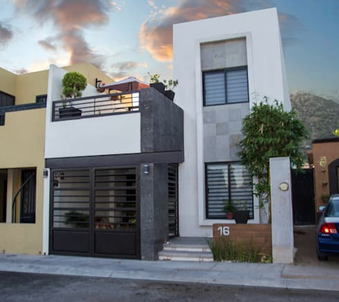 Residencia Lomas:  de estilo  por MOBAH Arquitectura