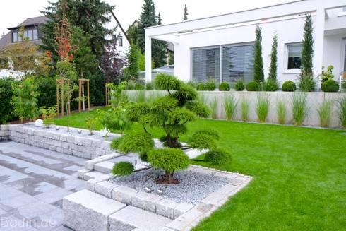 Garten Bauhausstil gartengestaltung im bauhausstil by bodin pflanzliche raumgestaltung