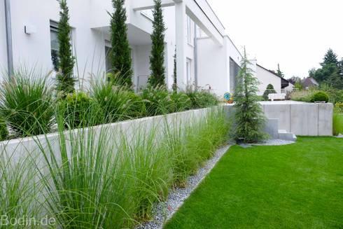 Gartengestaltung im bauhausstil von bodin pflanzliche for Gartengestaltung bilder