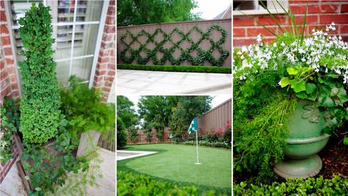 Entertaining Garden—Transitional Landscape Design: eclectic Garden by Matthew Murrey Design
