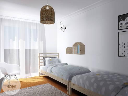 O quarto do João e do Henrique: Quartos de criança escandinavos por Homestories