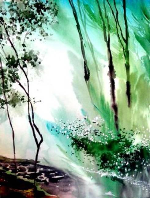 Falling Light:  Artwork by Indian Art Ideas
