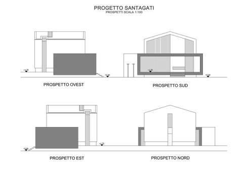 Casa ls1 di gaetano ternullo homify for Piani di casa in stile artigiano nord ovest