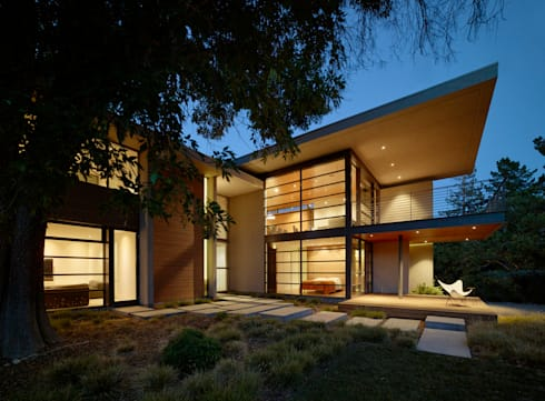 Stanford Residence: modern Houses by Aidlin Darling Design