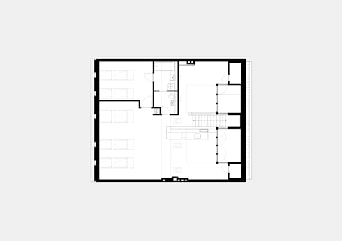 attic floor plan:   by brandt+simon architekten
