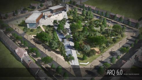 Concurso Edificio Consistorial Papudo: Casas de estilo moderno por Arq6.0