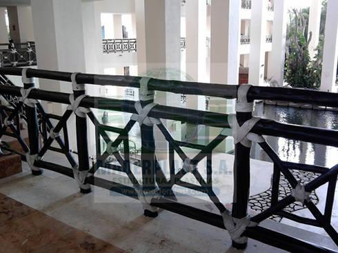 Fabricación de Cerramientos para zonas ecológicas: Paisajismo de interiores de estilo  por Maderplast S.A.