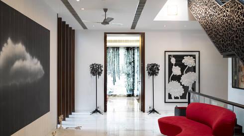 modern Living room by Morphogenesis