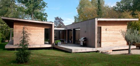 maison kapla par hugues tournier architecte homify. Black Bedroom Furniture Sets. Home Design Ideas