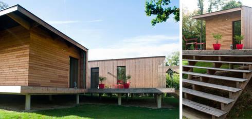 maison kapla por hugues tournier architecte homify. Black Bedroom Furniture Sets. Home Design Ideas