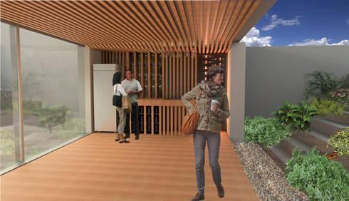Cantina: Cavas de estilo moderno por VOLEVA arquitectos