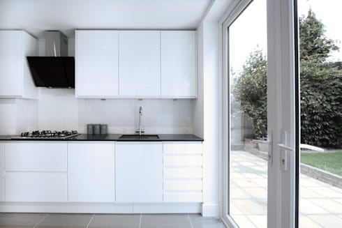modern Kitchen by RS Architects