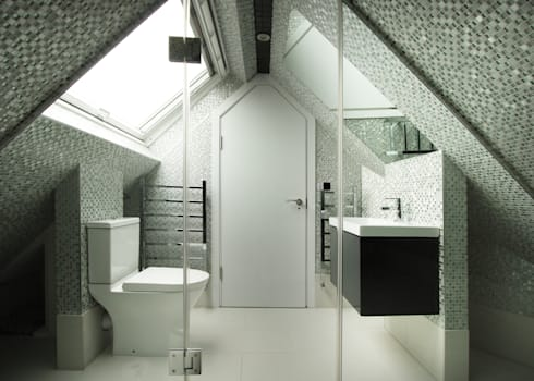 modern Bathroom by RS Architects