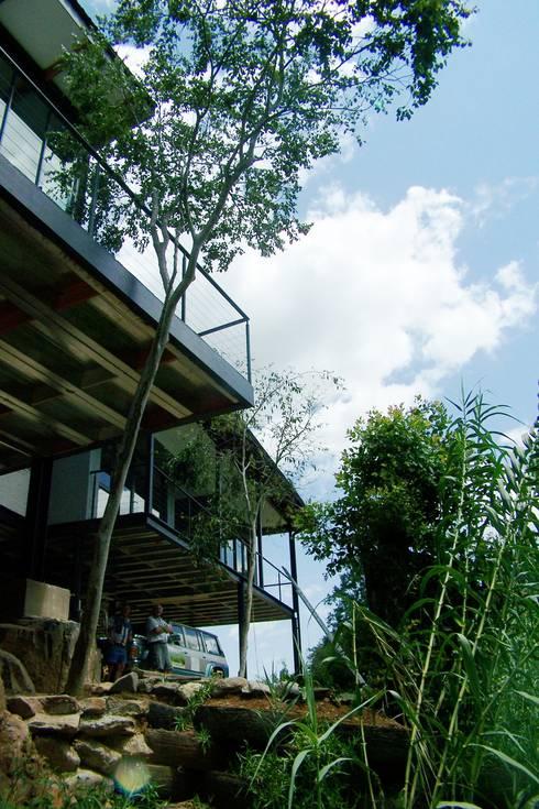 Projekty,  Domy zaprojektowane przez Human Voice Architects