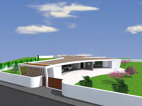 Vivenda Unifamiliar <q>AMAR</q>: Casas modernas por Traço M - Arquitectura