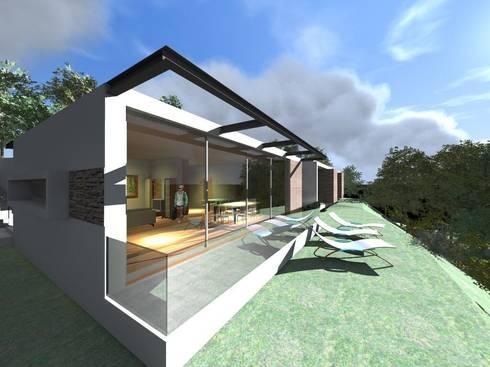 Vivenda Unifamiliar <q>RT</q>: Casas modernas por Traço M - Arquitectura