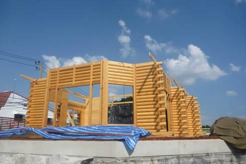 Log home:  อาคารสำนักงาน by Sukjai Logcabin Partnership