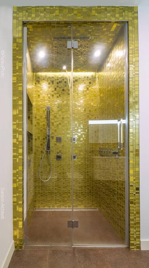 Baños de estilo  por SANSON ARCHITETTI