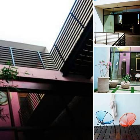 Proyecto casa calle 70 x 51 Barrio de Santiago: Casas de estilo moderno por Maya Arquitectura Construccion