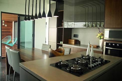 Cocina: Cocinas de estilo industrial por Narda Davila arquitectura