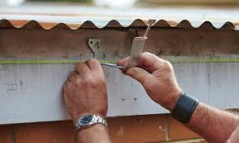 Gutters installation project:   by Cape Town Waterproofing